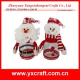 Christmas Decoration (ZY16Y063-1-2 26CM) Christmas Storage Jar Christmas Ornaments with Names