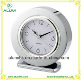 Table Alarm Clock Metal Body Silent Alarm Clock for Hotel