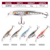 Hot Sale Plastic Hard Minnow Fishing Lure