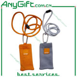 Woven Cell Phone Pouch with Customized Logo