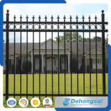 China Standard Ornamental Galvanized Wrought Iron Safety Fence for Residential