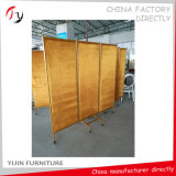 Hotel Lobby Public Metal Fabric Upholstered Screen (SP-1)