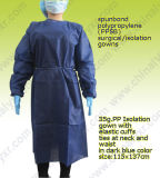 PP Non Woven Disposable Isolation Gown