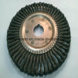 Round Hole Pipeline Weld Cleaning Brush