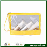 Transparent PVC Material Cosmetic Bag with Zipper Closure