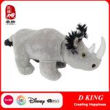 L28cm Custom Rhinoceros Plush Soft Toys Stuffed Animals Yangzhou