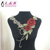Hot Sale Fashion Embroidered Neck Lace Flower Collar