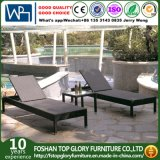 Outdoor Beach Furniture Hotel Poolside Rattan Sun Lounger (TG-JW93)