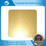 Color Ti Gold Stainless Steel Sheet