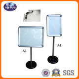 Aluminum Snap Frame Standing Poster Stand