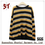 Hot Saling Popual Stripes Leisure Fashion T-Shirt for Autumn