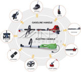 Newest China Electric or Gasoline Garden Tool Set 9 in 1 Multi Tools