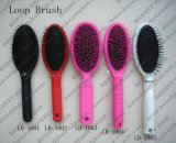 Hair Extension Closed Loop Nylon Bristle Oval Hair Brush
