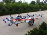 Small Boat Trailer with Rollers Tr0232