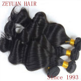Natural Wavy 100% Human Hair Virgin Remy Brazilian Hair (ZYWEFT-230)