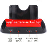 USB2.0 to 2.5/3.5 SATA+IDE HDD Docking Station (SG-875)