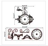 DIY Clock Wall Sticker Design