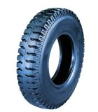 Nylon Bias Truck Tire (11.00-22) with Rib and Lug Pattern