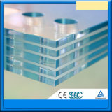 6.38-39.52mm PVB/Sentryglas Clear Tempered Laminated Glass