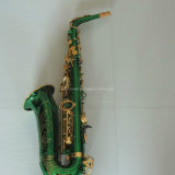 Alto Saxophone/ Green Color 82z Saxophone (AS-Y82)