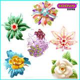 Manufacturer Wholeslae Custom Metal Bulk Wedding Flower Brooch