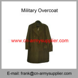 Army Long Coat-Army Wool Overcoat-Army Greatcoat-Military Alicebag-Police Greatcoat