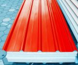 Red EPS Insulation Sandwich Roof Panels for Prefab Houses