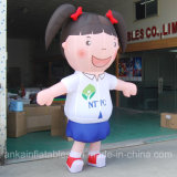 2017 Cheap Inflatable Girl Suit Mascot Costume for Adults and Kids
