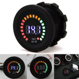Car Motorcycle Waterproof Boat LED Digital Panel Display Voltmeter Battery Capacitor