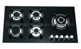 Kitchenware Tempered Glass Built in Gas Hob Gas Stove Jzg95002