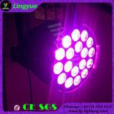 18X15W 5in1 Rgbaw DJ DMX Stage LED PAR Light