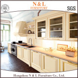 American Style Home Furniture Solid Wood Kitchen Cabinet