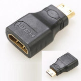 High Definition Mini HDMI to HDMI Converter Transit Mini HDMI Male Plug to HDMI Female Jack Adapter Mini HDMI Male to HDMI Female Adaptor