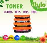 Ce400A/401A/402A/403A Color Laser Printer Cartridge Toner for HP Laserjet