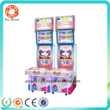 Coin Operated Interesting Courage Lottery Game Machine