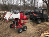 ATV/UTV/Quad/Side by Side/Small Tractor Tow Behind 13HP /15HP Engine Powered Branch Logger/Wood Chipper/Wood Chopper