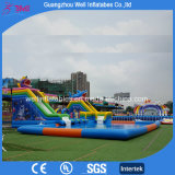 Giant Inflatable Pool Slide for Adult Inflatable Water Slide and Pool Park