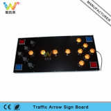 Aluminum 100mm Lamp Flashing Module LED Arrow Road Sign Board