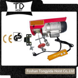 Manufacturer PA Type portable 500kg Wire Rope Mini Electric Hoist, Mini Electric Chain Hoist 1000kg Electric Hoist Made in China
