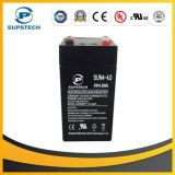 AGM Sealed Lead Acid Rechargeable Battery 4V 4ah Battery for Alarm System
