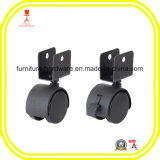 Locking Office Swivel Chair Caster Wheels for Hard Floors