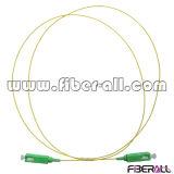 Sc APC to Sc APC 0.9mm Buffered Fiber Patch Cord