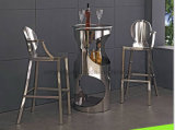 LC04 China Wholesale Custom Sofa Leatherette Metal Chair