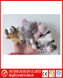 Hot Sale Plush Rabbit Finger Puppet Toy with CE