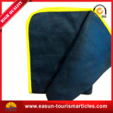 Blue Color Thin Printing Logo Blankets