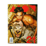 Professional Custom Coated Paper Fashion Softcover Magazine Printing