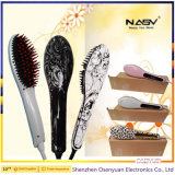 Newest Fashion Hair Straightener LCD Display Electric Brush