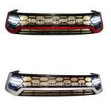 Front Grille for Toyota Hilux Revo with LED Light