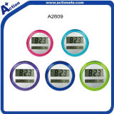Simple Designed Round Digital Table/Wall Clock for Promotion