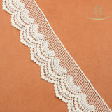L30019 Embroidery Cotton Lace for Garment Accessory
